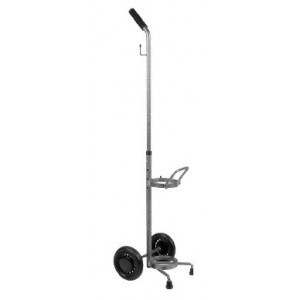 OXYGEN TANK CART WITH WHEELS