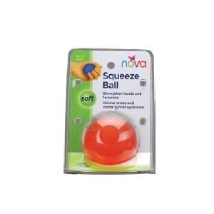 HAND SQUEEZE BALL SOFT ORANGE