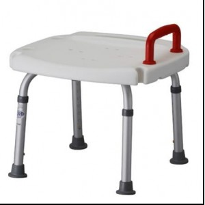 BATH SEAT & RED HANDLE- RETAIL