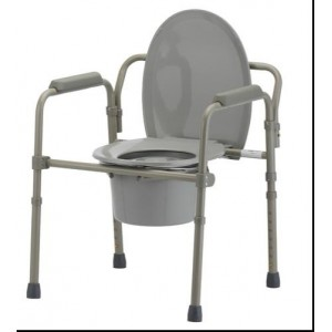 3 IN 1 COMMODE FOLDABLE-RETAIL
