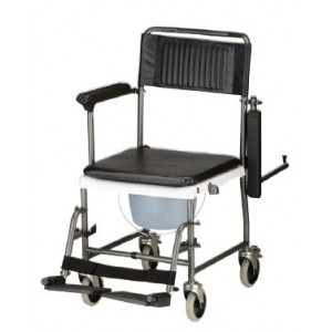 TRANSPORT CHAIR COMMODE DRPARM
