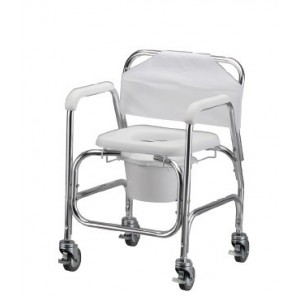 SHOWER COMMODE WITHWHEELS