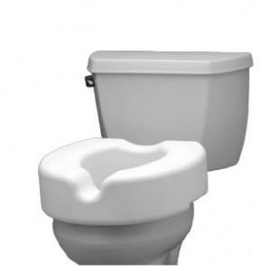 "RAISED TOILET SEAT 5""-RETAIL"