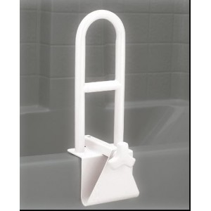TUB GRAB BAR WHITE