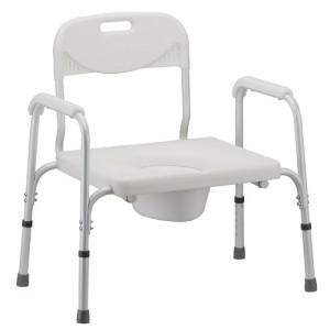HEAVY DUTY COMMODE WITHBACK 450