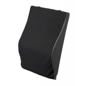"BACK CUSHION LUMBAR 22"" BLACK"