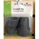 TIPS FOR CRUTCHES GRAY