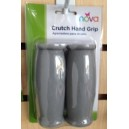HAND GRIPS FOR CRUTCHES GRAY