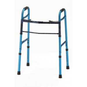 FOLDING WALKER DESIGNER BLUE
